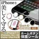 ホームボタンシール TouchID指紋認証対応 iPhon用ホー
