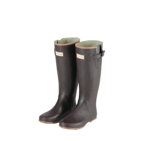 CSラバーブーツ ブラウン M ( UX-0654 / CAG10251848 )【 UX-654 】【 キャプテンスタッグ レインブーツ 長靴 】【QBI07】
