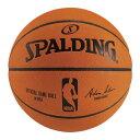 オフィシャルNBAゲームボール 7号球 ( 74-569J / SP10286625 )【 スポルディング 】【QBG41】
