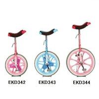 一輪車 一輪車 ピンク 一輪車 ブルー 一輪車(エアタイヤ)20【ENW】【QBJ38】の画像