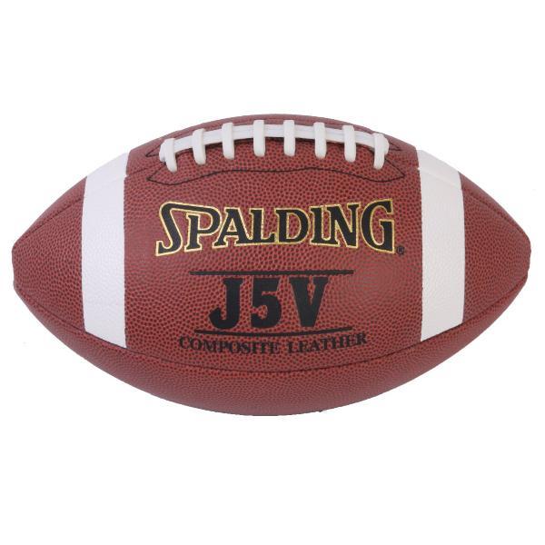 バスケ スポルディング J5V アメリカンフットボール 屋外用 合成皮革 (SP119161/62-833Z)QBI07【QBI35】