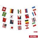 田徑競賽 - 連結式万国旗(20ヶ国) (ES168802/S-752)【QBG41】
