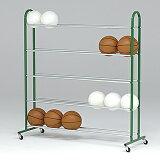 ボール整理棚ST5 (JS39918/B-7055)【分類:体育館用品 ボールカゴ】【QL5】