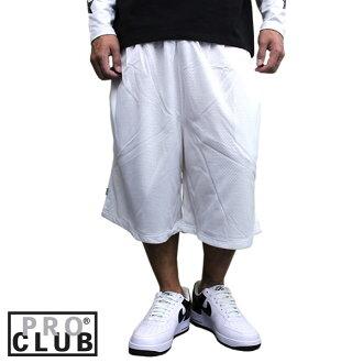 PPROCLUB專業俱樂部網絲短褲籃球褲子白白人運動休閒運動短褲MESH SHORT街道時裝B派舞蹈服裝