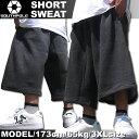 SOUTHPOLE/サウスポール スウェット ハーフパンツ チャコールグレー メンズ ファッション あす楽 アメカジ ストリート ルード スケート