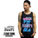 JIMMY'Z ジミーズ ジミーズィー タンクトップ Z Car tank / ブラック jztt201 サーフ ストリート スケート 西海岸 カリフォルニア U.S直輸入 特価