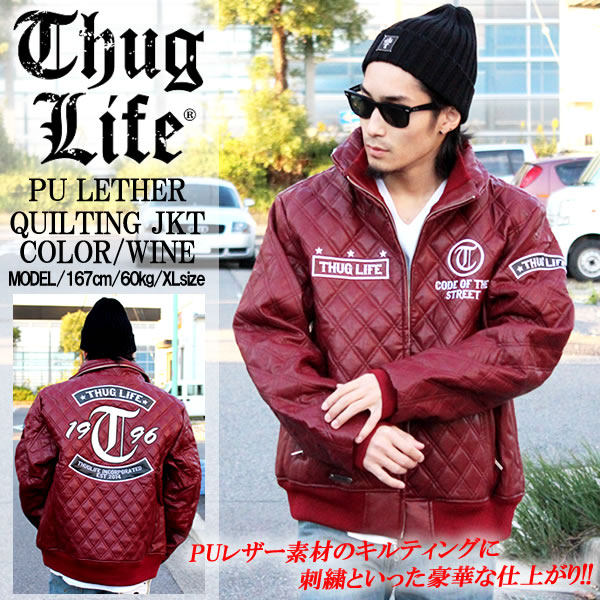 THUGLIFE サグライフ アウター QUIL...の商品画像