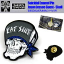 "SUICIDAL TENDENCIES×JASON JESSEE ""LIMITED GUEST COLLECTION"" SKULL PIN ピンバッジ ピンバッ..."