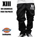 """Dickies874×LA LosAngeles """"F.T.P XIII"""" カスタムチノ メンズ ファッション あす楽 アメカジ ストリート ルード スケート"""