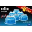 ■ブラウン クリーン&リニューシステム専用洗浄液カートリッジ(6個入り) CCR-6