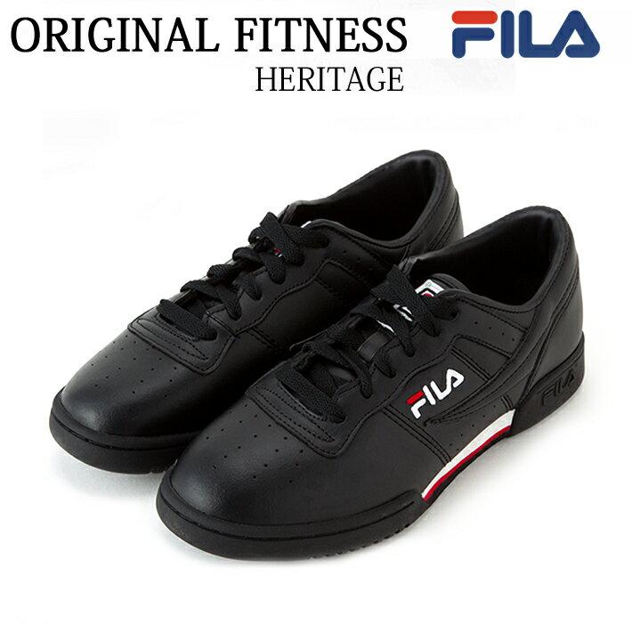FILA(フィラ) MENS ORIGINAL FITNESS FHE104 [BLACK/WHITE/RED]