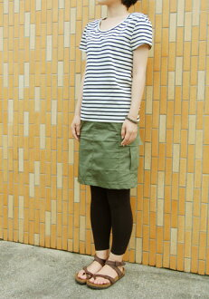 Stretch cargo skirt paper pattern