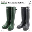 ショッピングカントリー Barbour(バブア)Town & Country Wellington 2color