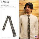 the Hill-side(ヒルサイド)N57-142 TIES Jacquard Nordic Camouflage