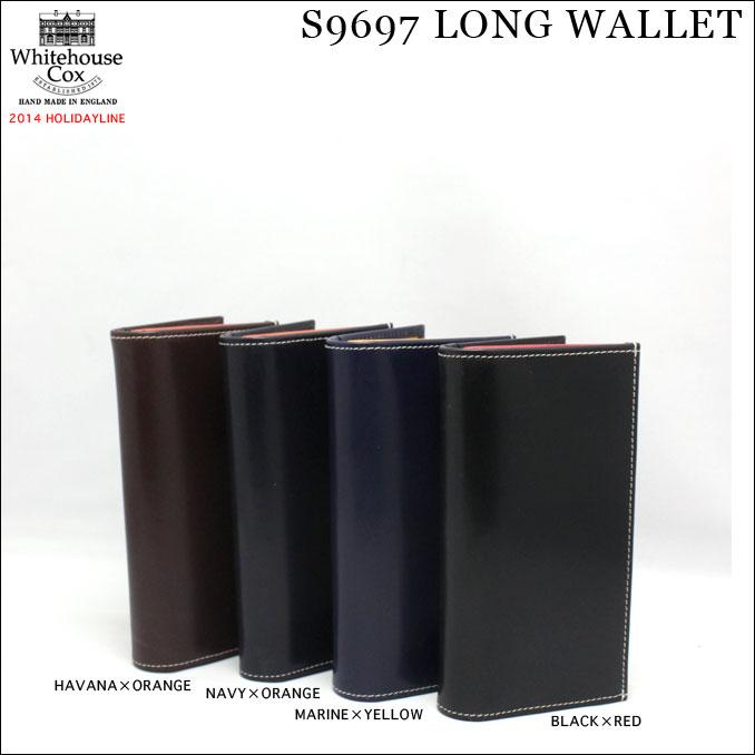 ホワイトハウスコックス S9697 LONG WALLET - HOLIDAYLINE 2014 財布 長財布 メンズ 革 本革 牛革 男性 送料無料 ウォレット 人気 ギフト プレゼント