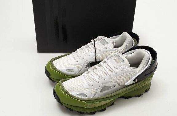 adidasアディダス by RAFSIMONSラフシモンズ RESPONSE TRAIL AQ2649新品【MFWA38761】【白黒緑】【US10.5(28.5cm)】【未使用】【DM161221】
