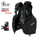 Bism ビーイズム SUMERGE BC MARK2  サマージBCマーク2 ◆OCT2仕様モデル シンプル&ベーシック 進化系 JS3430 ダイビング BCD ..
