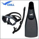 GULL 軽器材3点セット マンティス5 マスク カナールドライ レイラドライ スノーケル ミュー