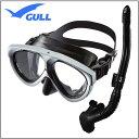 GULL 軽器材2点セット マンティス5 マスク カナールステイブル スノーケル レイラステイブル