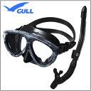 GULL(ガル) ブラックシリコン シリーズ 軽器材2点セット マンティス5 マスク Mantis 5 カナールドライSP スノーケル GM-1036 G..