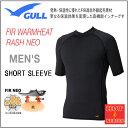 GULL(ガル) ウォームヒートラッシュ ショートNEO 2 メンズ 男性用 GW-6507A GW6507A WARMHEAT ラッシュガード半袖 マリンウエ...