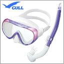 GULL(ガル) 軽器材2点セット ココマスク レイラステイブル スノーケル GM-1231 GM-
