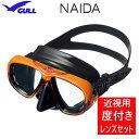 ダイビング 度付き マスク 度付きレンズ&マスクのセット GULL(ガル) NAIDA(ネイダ) GM-1234 女性用 2眼マスク ダイビング ..