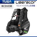 2018 TUSA(ツサ) BC-0103B BCD Liberator リブレーター (BC0103B) 快適な使用感 ウエイトローディングシステム搭載 ダイビング..