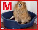 【最大350円OFFクーポン配布】ドーム M  ネイビー 小型犬〜中型犬に♪(サイズ展開4種類)洗える ドーム型ベッド