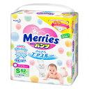 【花王】 メリーズパンツ さらさらエアスルー Sサイズ (4〜8kg) 62枚入 【医療用品】