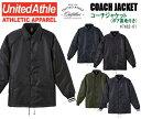 コーチジャケット(ボア裏地付き)【United Athle Outfitters/ユナイテッドアスレアウ