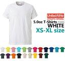 【XS-XLサイズ】【ホワイト】4.0oz Tシャツ【薄手・無地】【deslawear(デラウエア)】・半袖・5806-01・メンズ・・男女兼用UNITED ATHLE..