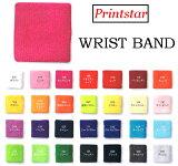 Printstar(プリントスター)リストバンド 選べる28カラー!!05P11Apr15