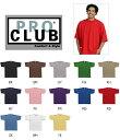 PRO CLUB(プロクラブ)6.1oz 無地ヘビーウェイトTシャツ【MからXLサイズ】【メンズ】
