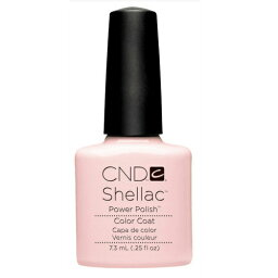 ★CND シェラック UVカラーコート 7.3ml523 ピンク