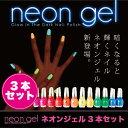 ★Neon Gel -Glow In The Dark-蛍光ネイルポリッシュ 15ml×3本セット[マニキュア ネイルカラー ジェルネイルカラー ネイルポリッシ...