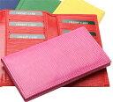 カードケース カード15枚収納 3つ折り 水シボ牛革使用 2...