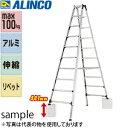 ALINCO(アルインコ) 伸縮式専用アルミ脚立 PRT-240FX [個人宅配送一部不可]
