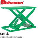ビシャモン(スギヤス) 油圧駆動式テーブルリフト NX 1段式 X11224-B 最大積載能力:1000kg [配送制限商品]