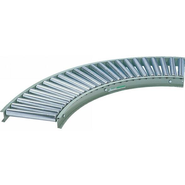 メイキコウ フリーローラコンベヤ(ハイクオリティクラス) カーブ FLN42J-TC-W300-P100-R900-A90 [商品] ローラーコンベア仕分け