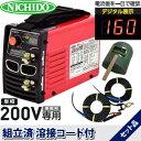 日動工業 200V専用デジタルインバーター直流溶接機 スーパーウェルダー BM2-160D...