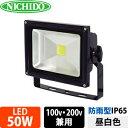 日動工業 LEDエコナイター LEN-50D-ES-DB (濃紺) 50W 昼白色 5000K