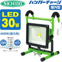 日動工業 LEDライト ハンガーチャージ BAT-H30W-L1PMSH 30W/6000K(昼光色) 屋外型【在庫有り】【あす楽】