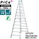 ピカ(Pica) アルミ製 専用脚立 スーパージョブ JOB-360E [大型・重量物] ご購入前確認品
