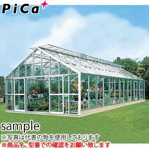 ピカ(Pica) 大型温室 マイルームS AMS3070 2S 21.1坪 間口3間 側面窓:段窓 天窓:両天窓 [送料別途お見積り]