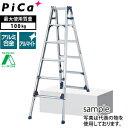 ピカ(Pica) アルミ伸縮脚立 SCL-210A [配送制限商品]【在庫有り】【あす楽】