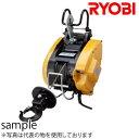 リョービ(RYOBI) 電動ウインチ WIM-125A ワイヤー31M 最大吊揚荷重:130kg