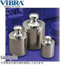 新光電子(VIBRA) M2CBB-500G 基準分銅型円筒分銅 M2級(3級) 500g 黄銅クロムメッキ製