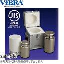 新光電子(VIBRA) F1CSO-5KJ JISマーク付OIML型円筒分銅 F1級(特級) 5kg 非磁性ステンレス製