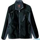 ショッピングフード ■アイトス フードインジャケット ブラック LL 〔品番_10301-110-LL〕[TR-4321502]